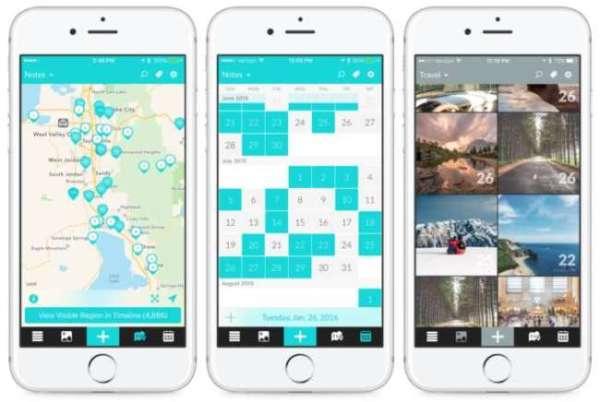 Reisetagebuch App Day One